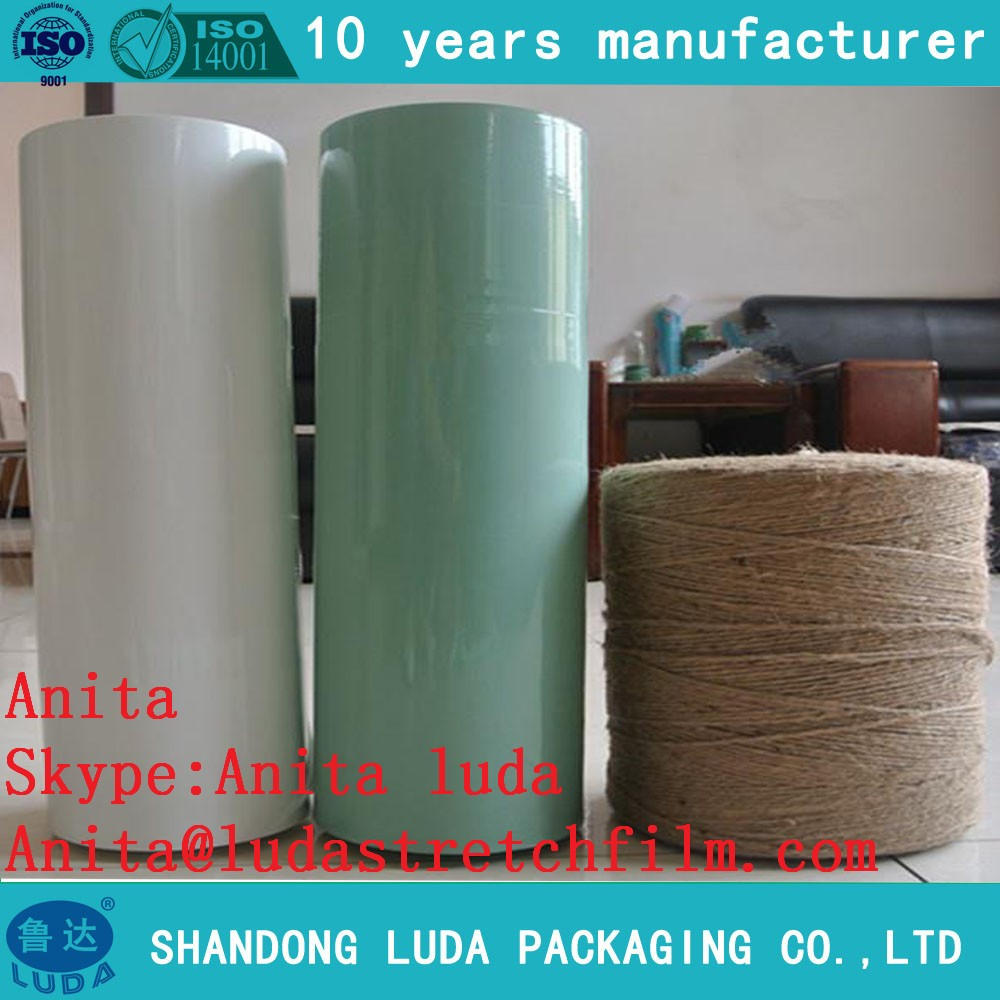 Excellet Quality Silage Wrap Stretch Film in roll 25micx500mmx1800m