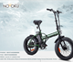 20 inch fat tire electric bike /36V 250W foldable mountain electric bicycle/ snow electric bike