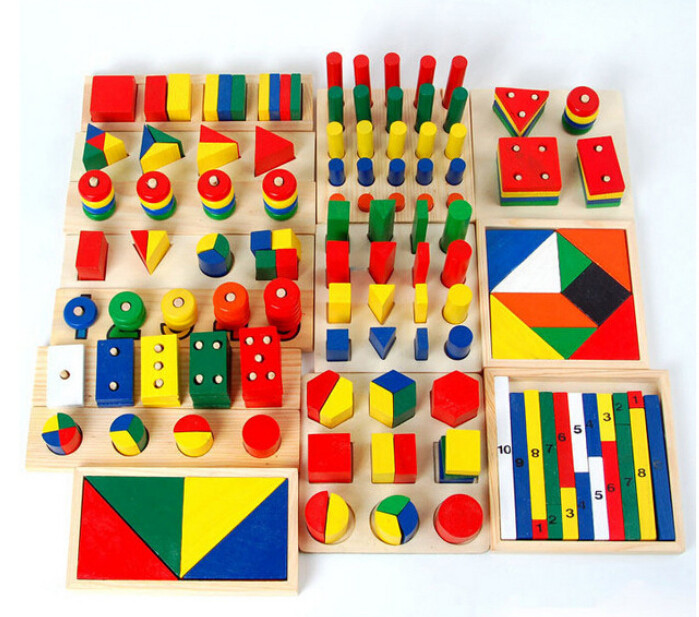 establece madera material montessori juguetes montessori ayudas de enseanza montessori juguetes para nios