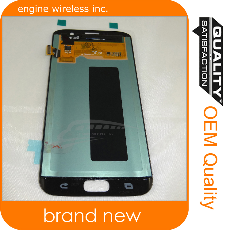 Full stock mobile phone screen for galaxy s7 edge glass repair