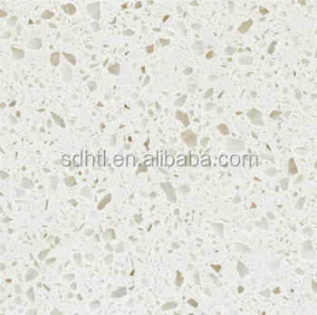 China Nsf Roved Green Quartz Countertops Manufacturers Artificial White Mirror Fleck Stone Countertop For