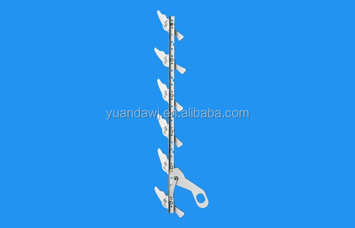 PVC window hardware louver blade shutter accessory
