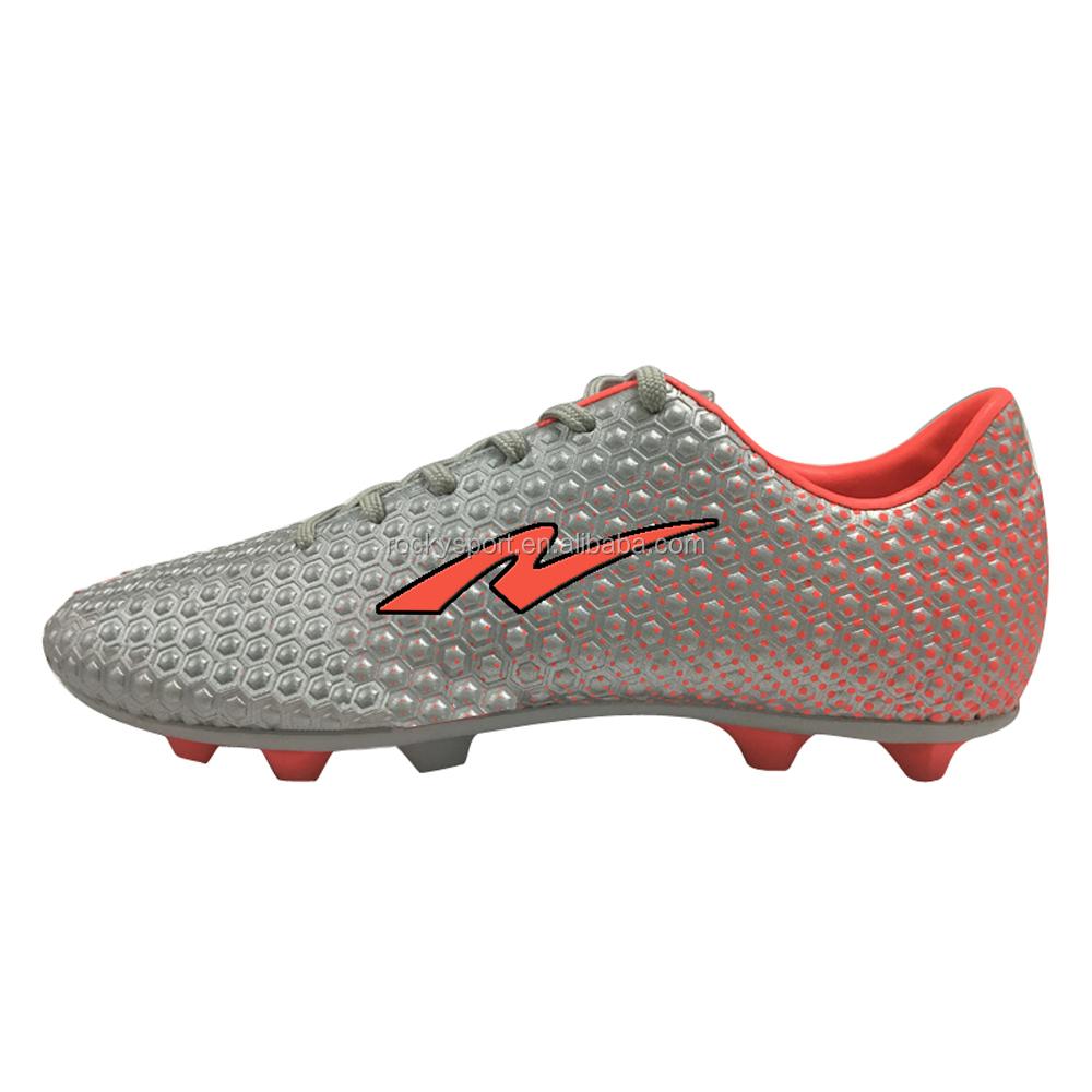 c6bb2fca8 جديد أفضل نوعية الأزياء الرخيصة الرجال المسامير في أحذية كرة القدم