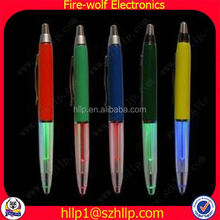 2014 Wholesale Gift For Lovers advertising promotional bendy pen / LED gifts Exporter