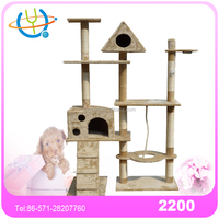 Comfortable Various Colors Hangzhou Cat Tree High Quality Cat Tree Cheap Used Car Tree for Sale