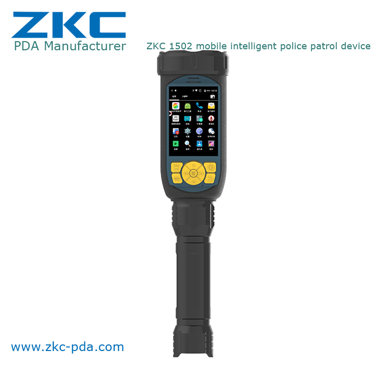 Mutifunctional Hot Product Police Security Led Flashlight with Wifi, Camera,BT and barcode scanner ZKC1502