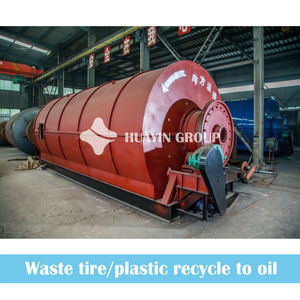 Waste To Wealth Pyrolysis Renewal Oil Production Line