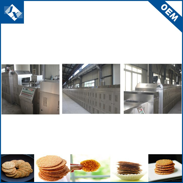 OEM orders acceptable productive low consumption biscuit cookie machine