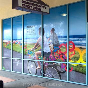 Perforated Printable Self Adhesive One Way Vision Window