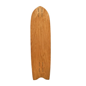 Blank Mini Cruising Canadian maple Long board Deck with U concave skateboard