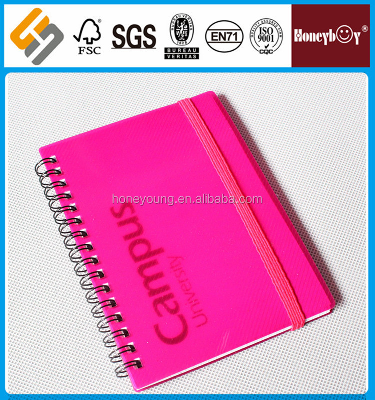 factory price handmade promotional note book for schools