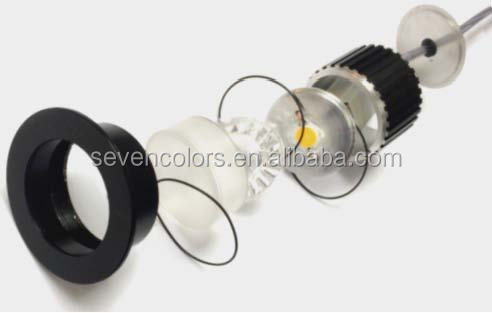 Recessed Garden Lamps/ 50mm Cut-out Inground Led Light/ Cob Led In ...