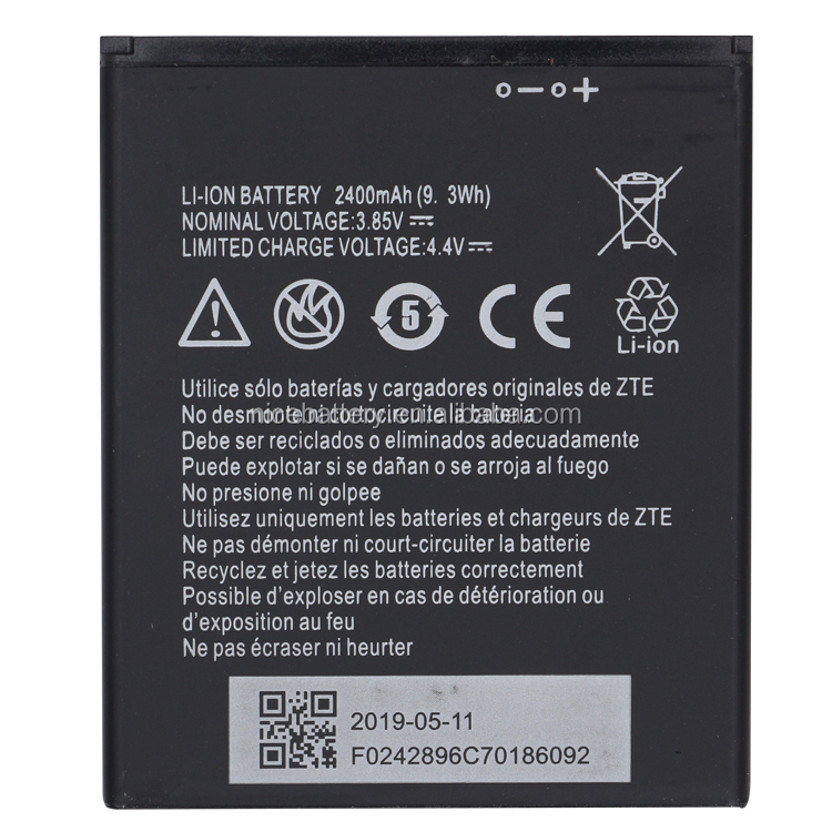 OEM Brand new Original Battery Li3824T44P4h716043 for ZTE Blade A520 BA520 A603 BA603 2400mAh