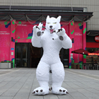 Giant Walking Animal Wolf Inflatable Mascot Costume Cosplay Costume