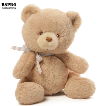 BSpro #CCA18DE2337 30cm stuffed bear toy for oem display toy