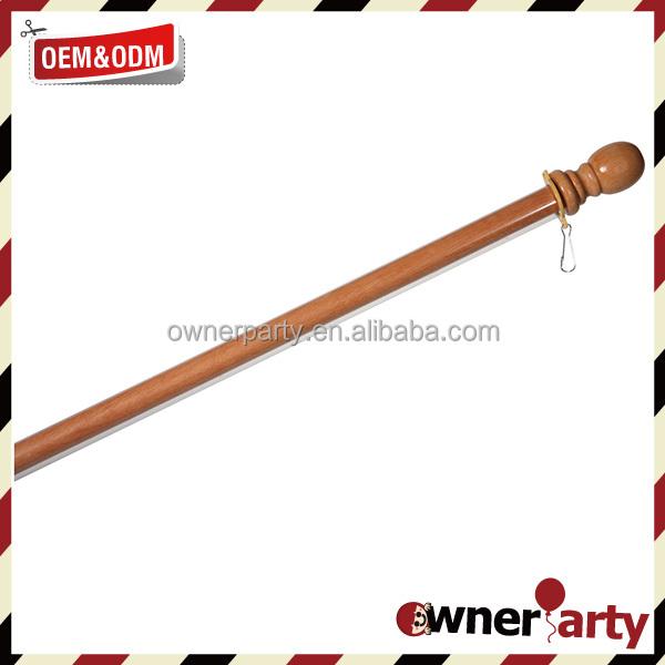 China Wooden Flag Pole, China Wooden Flag Pole Manufacturers