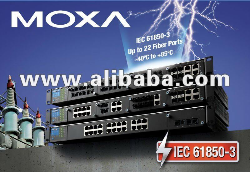 IEC 61850-3 / EN 50155 24+4G-port Layer 3 Gigabit modular managed Ethernet switches