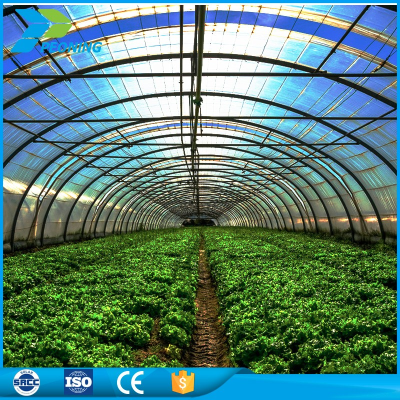 High impact resistance 16mm polycarbonate plastic roofing material sheet green house