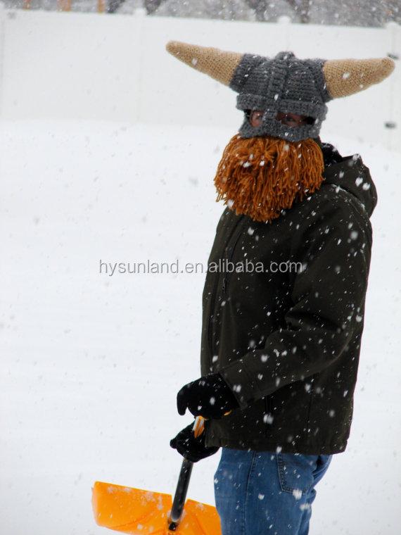 W-179 Ganchillo Hecho A Mano Viking Casco Sombrero Invierno Máscara ...