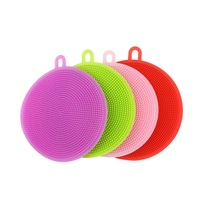 Reusable Magic Kitchen Cleaning Silicone Dish Washing Sponge