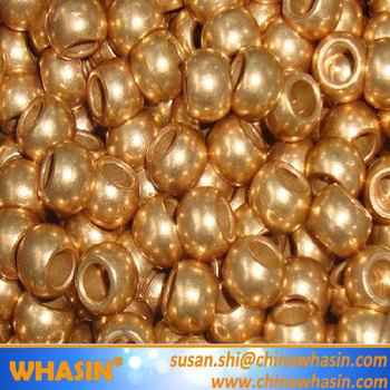 Spherical Fan Motor Bushing Oil Sintered Bearing Cu663
