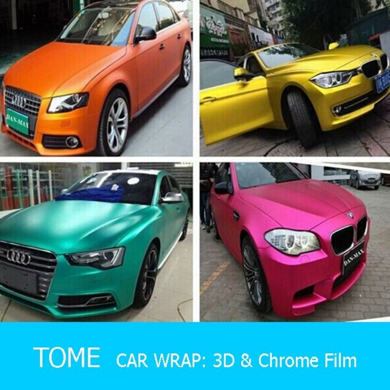 Carlas Glitter Cast Chameleon Car Color Change Wrap Vinyl Film