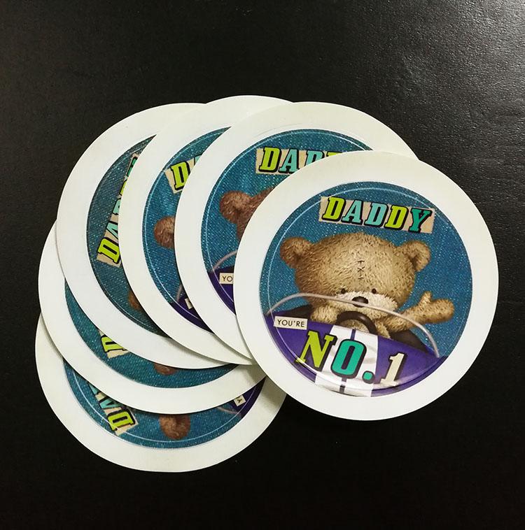 Custom Easy Peel Off Removable Transparent Vinyl Static Cling - Custom vinyl stickers easy peel off