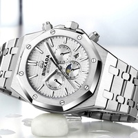 2019 automatic mechanical wrist watch Multifunctional hot sale watches men luxury brand most popular products custom watch