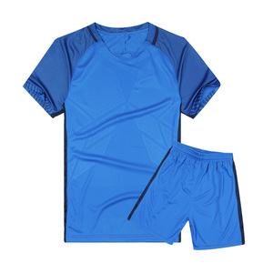 Wholesale OEM team soccer jersey sets men design kid soccer uniforms china manufacturer