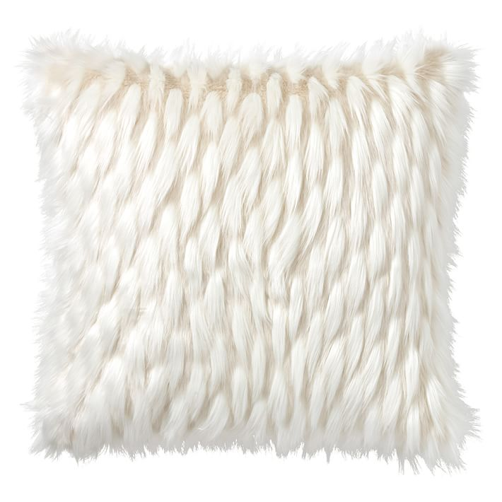 faux cover white pillow j fur decor product mongolian off whitney