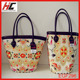 fashion high quality porter bag hot selling 2013 new style Embroidered straw bag