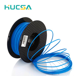 vivid color novel 3d printer, 3d printer filament pvc ABS HIPS grade filament