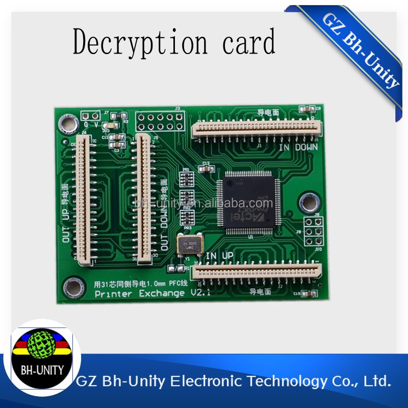cheaper price!decoder for dx5 printhead chip decoder of F186000 printhead for E pson printhead printer sale