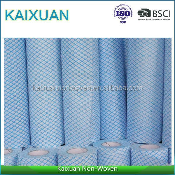viscose and polyester nonwoven material hygienic products