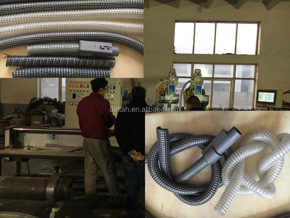 High tensile vacuum cleaner flexible spiral hose making machine