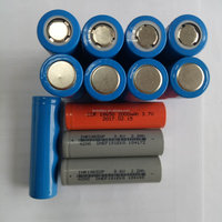 Factory direct supply electric core rechargeable lithium battery 3.7v 1200MAH 18650