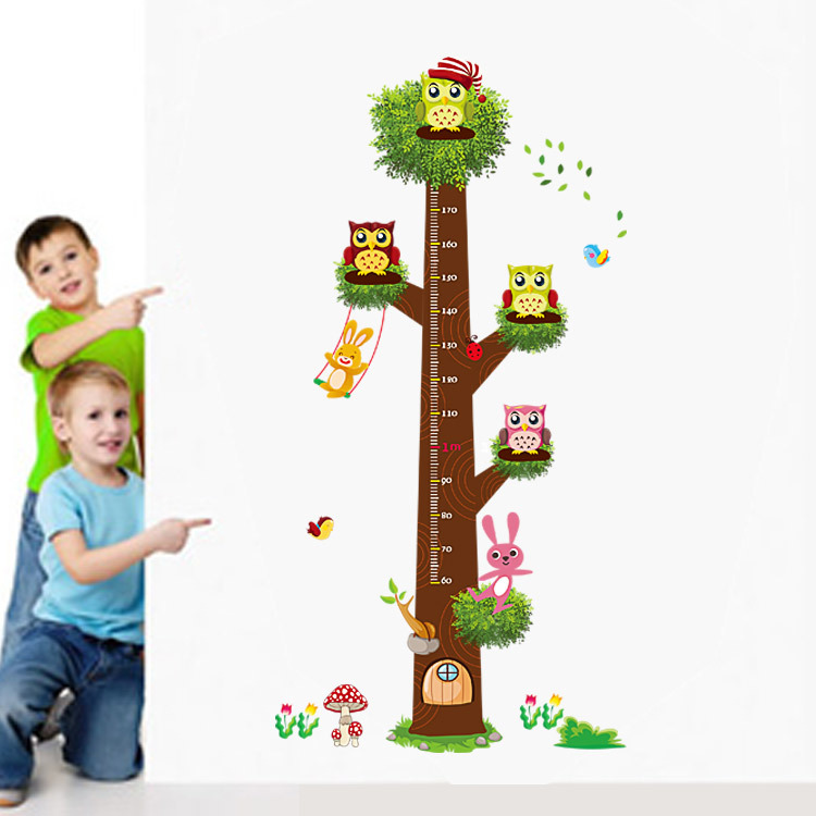 Wall Decoration Paper Owls 3d Wall Sticker For Nursery Playroom Children's Bedroom Decor Sticker
