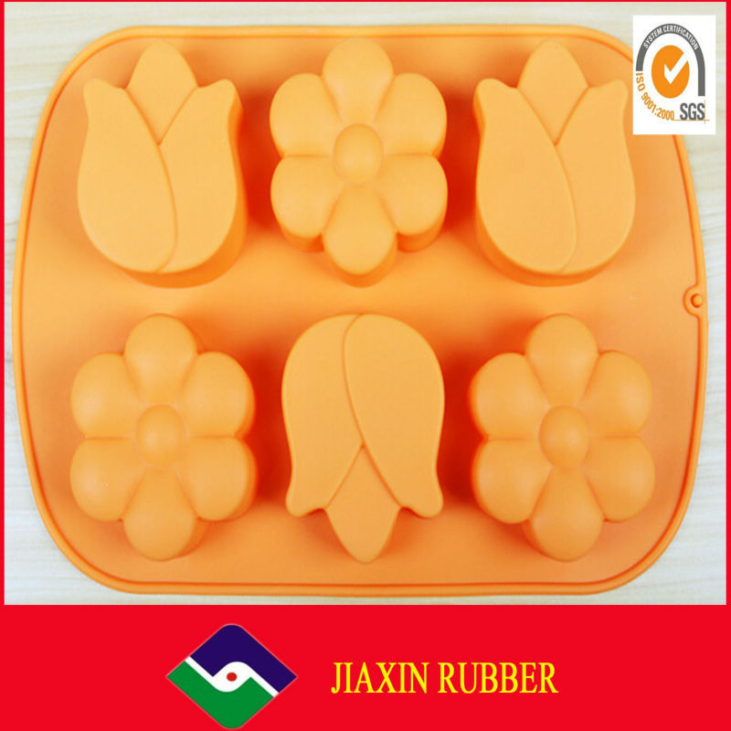 Cake mold chocolate tray/Colorful decoration Popular funny silicone cake mould