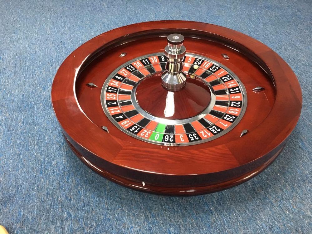 Casino quality roulette wheel