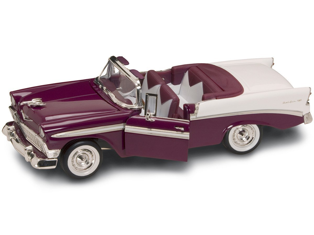 Yat Ming Scale 1:18 - 1956 Chevy Bel Air Convertible
