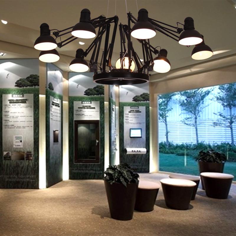 Office Lighting Ideas: [ SHAHCOO ] Art Modern Chandelier Lamp Living Room Lamp
