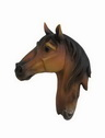 3D polyresin animal horse head wall decoration
