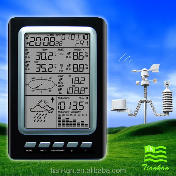 WS1030 professional weather station equipment
