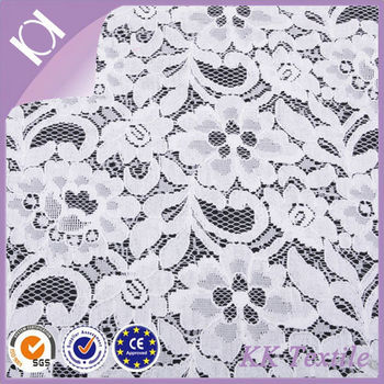 65 Cotton 35 Nylon Fashion Flower Embroidery Patterns African Lace