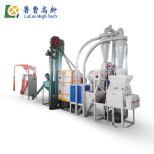 High efficiency China maize flour milling machine/ arepa flour making machine/ corn meal grinding machine