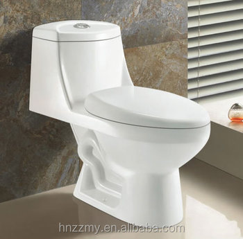 Bathroom Ceamics Toilet Bowl Middle East Indian Style One Piece Washdown