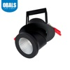 Obals 2700K-6500K CE RoHS COB 25W Energy Saving AC220-240V Led Down Light Black And White Recessed Downlight Cri90 60D