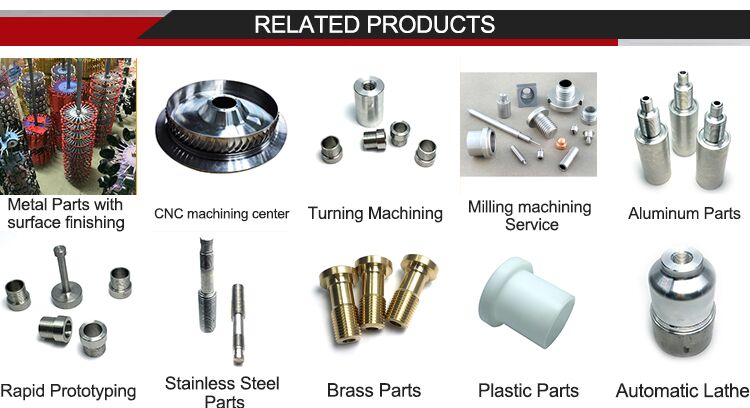 China manufactures custom cnc machining hard anodized aluminum parts