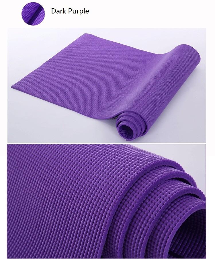Pisces Anti Slip Yoga Mat Pvc Mat For Slimming