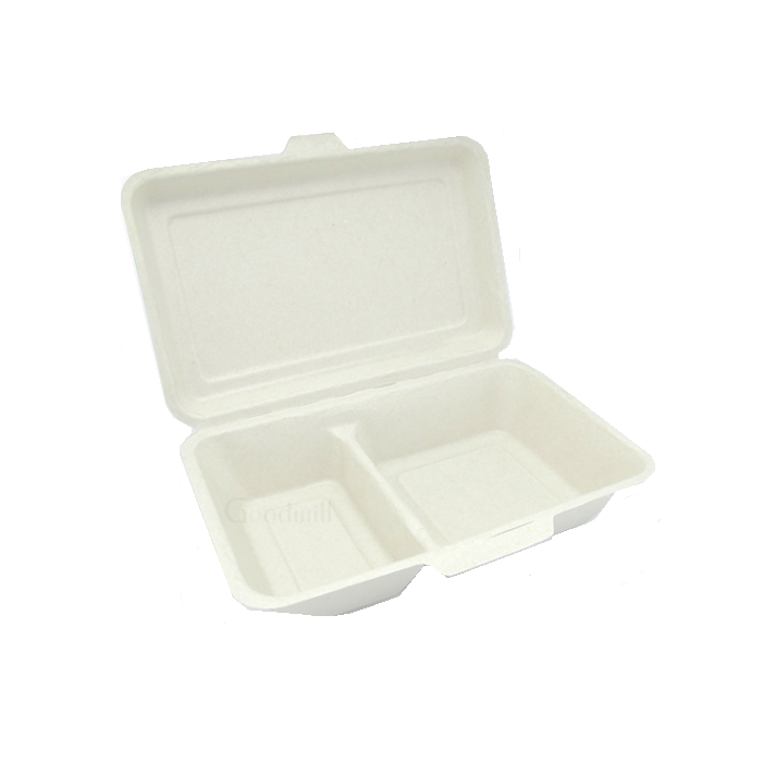 custom foldable cheap any size take away snack sushi burger pizza noodle bagasse food box